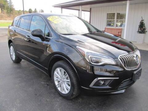 2018 Buick Envision for sale at Thompson Motors LLC in Attica NY