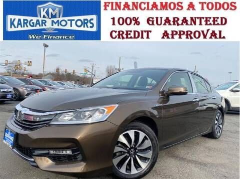 2017 Honda Accord Hybrid for sale at Kargar Motors of Manassas in Manassas VA