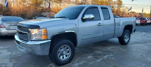 2012 Chevrolet Silverado 1500 for sale at DADA AUTO INC in Monroe NC