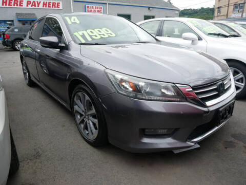 2014 Honda Accord for sale at M & R Auto Sales INC. in North Plainfield NJ