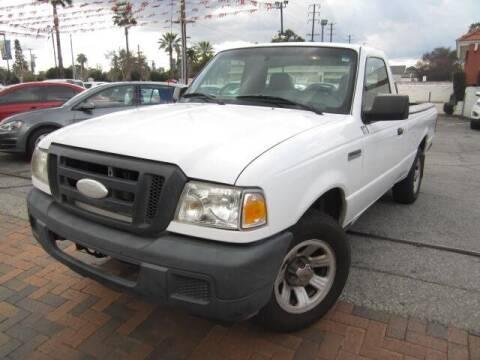 2007 Ford Ranger for sale at PREFERRED MOTOR CARS in Covina CA