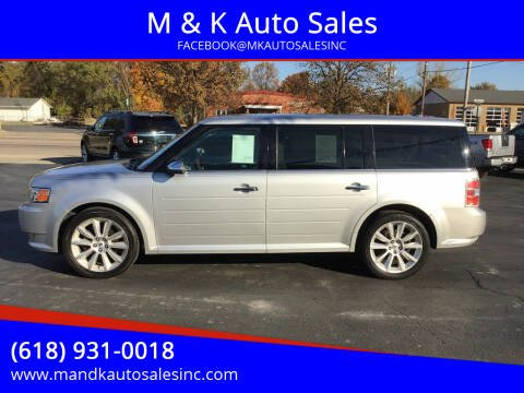 2012 Ford Flex for sale at M & K Auto Sales in Granite City IL