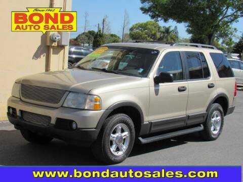 2003 Ford Explorer for sale at Bond Auto Sales in St Petersburg FL