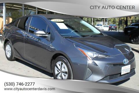 2016 Toyota Prius for sale at City Auto Center in Davis CA