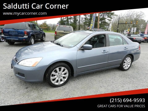 2007 Honda Accord for sale at Saldutti Car Corner in Gilbertsville PA
