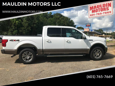 2019 Ford F-150 for sale at MAULDIN MOTORS LLC in Sumrall MS