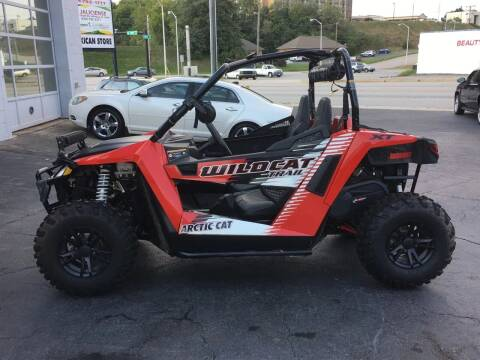2016 Arctic Cat WILDCAT TRAIL XT for sale at Brian Jones Motorsports Inc in Danville VA