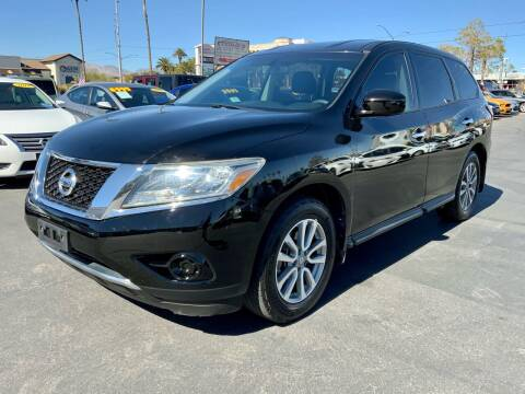 2014 Nissan Pathfinder for sale at Charlie Cheap Car in Las Vegas NV