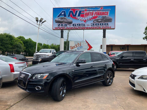 2012 Audi Q5 for sale at ANF AUTO FINANCE in Houston TX