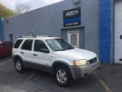 2001 Ford Escape for sale at AME Auto in Scranton PA