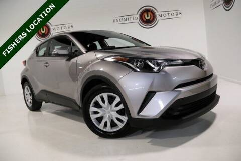 2019 Toyota C-HR for sale at Unlimited Motors in Fishers IN