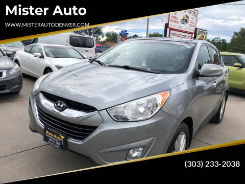 2013 Hyundai Tucson for sale at Mister Auto in Lakewood CO