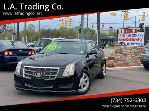 2009 Cadillac CTS for sale at L.A. Trading Co. in Woodhaven MI