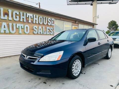 2007 Honda Accord for sale at Lighthouse Auto Sales LLC in Grand Junction CO