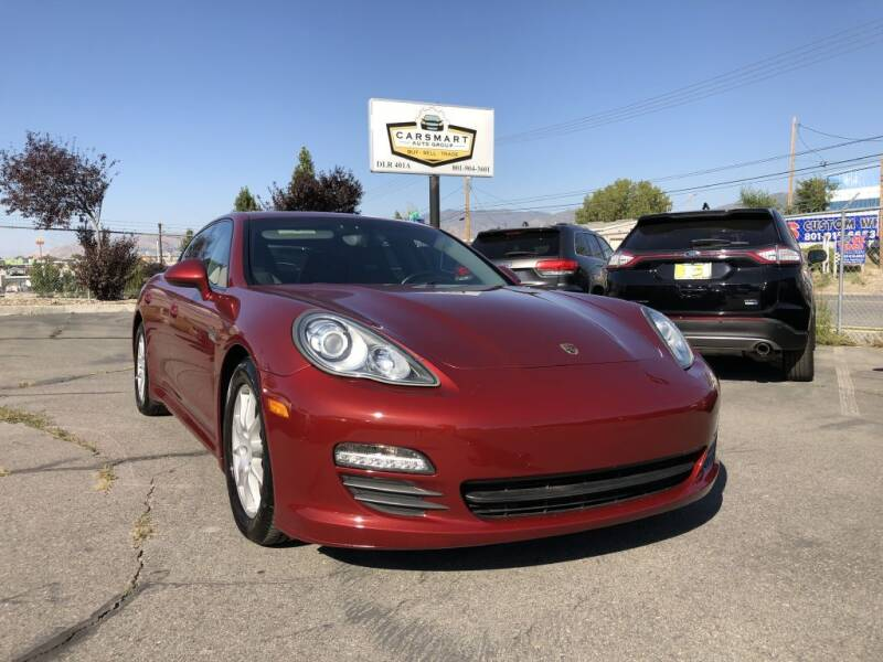 2011 Porsche Panamera for sale at CarSmart Auto Group in Murray UT