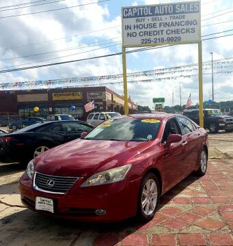 2009 Lexus ES 350 for sale at CAPITOL AUTO SALES LLC in Baton Rouge LA