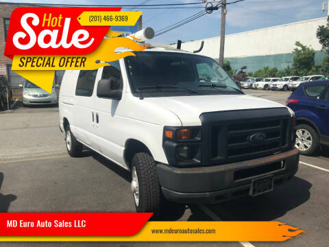 2012 Ford E-Series Cargo for sale at MD Euro Auto Sales LLC in Hasbrouck Heights NJ