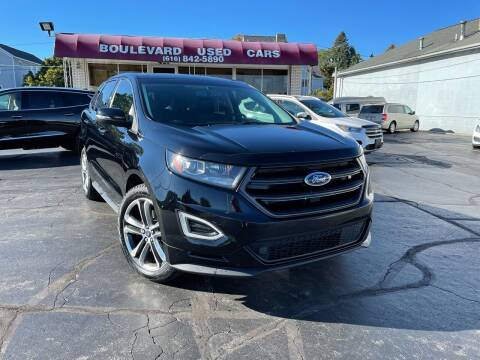 2017 Ford Edge for sale at Boulevard Used Cars in Grand Haven MI