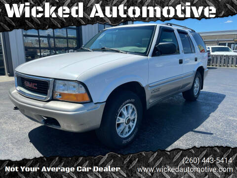 2000 GMC Envoy for sale at Wicked Automotive in Fort Wayne IN