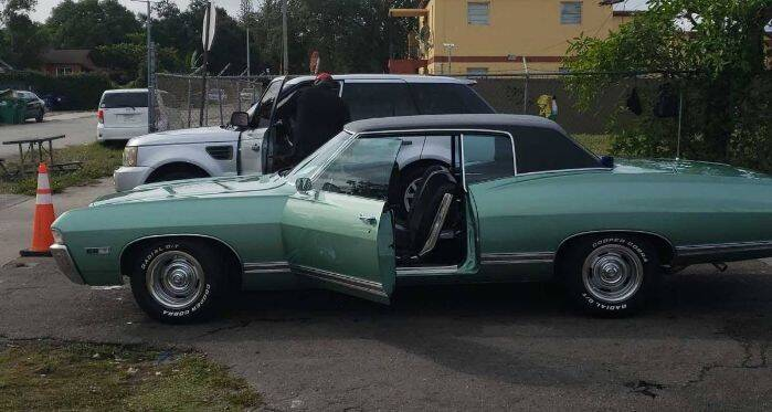 1968 Chevrolet Caprice for sale in Cadillac, MI