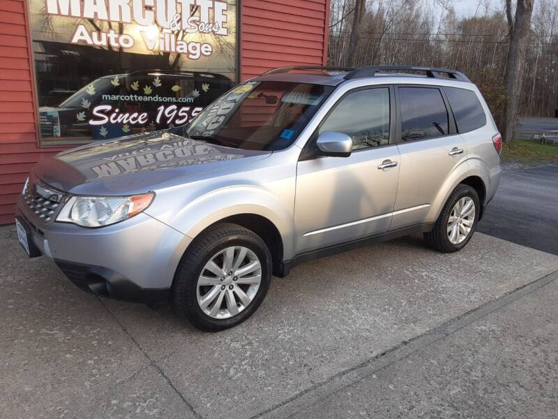 2012 Subaru Forester for sale at Marcotte & Sons Auto Village in North Ferrisburgh VT