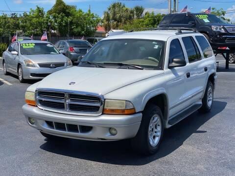 2003 Dodge Durango for sale at KD's Auto Sales in Pompano Beach FL