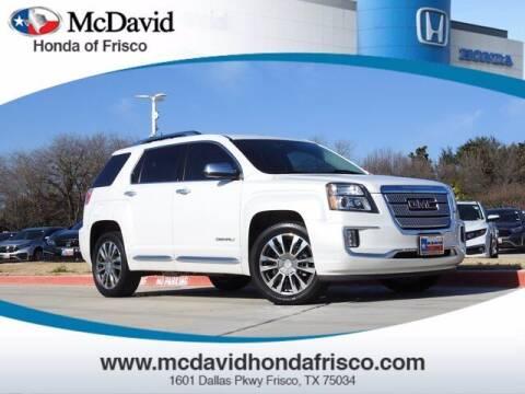 2017 GMC Terrain for sale at DAVID McDAVID HONDA OF IRVING in Irving TX