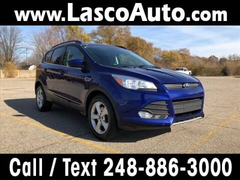 2016 Ford Escape for sale at Lasco of Waterford in Waterford MI