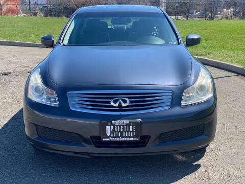 2009 Infiniti G37 Sedan for sale at Pristine Auto Group in Bloomfield NJ