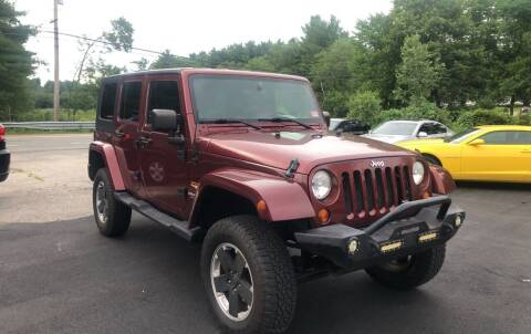 2007 Jeep Wrangler Unlimited for sale at Royal Crest Motors in Haverhill MA