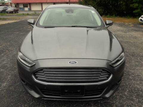 2014 Ford Fusion for sale at Discount Auto World in Morris IL