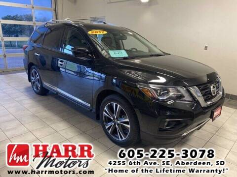 2017 Nissan Pathfinder for sale at Harr's Redfield Ford in Redfield SD