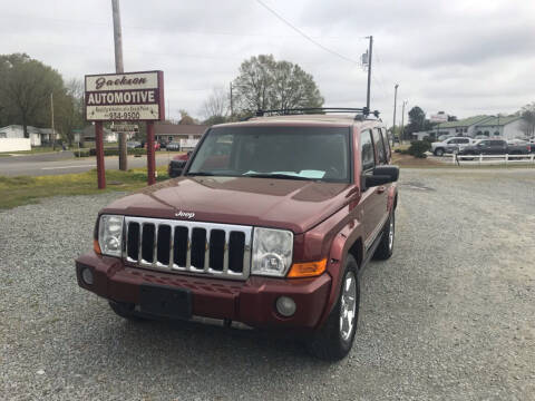 2008 Jeep Commander for sale at Jackson Automotive in Smithfield NC