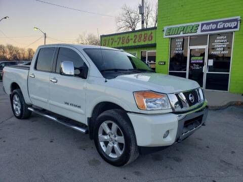 2013 Nissan Titan for sale at Empire Auto Group in Indianapolis IN