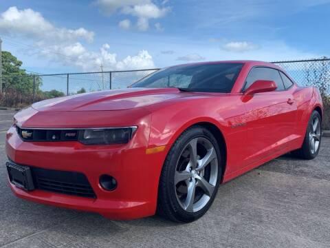 2014 Chevrolet Camaro for sale at Speedy Auto Sales in Pasadena TX