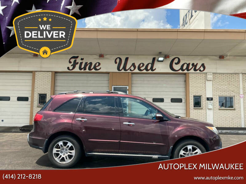 2008 Acura MDX for sale at Autoplex MKE in Milwaukee WI