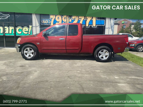 2004 Nissan Titan for sale at Gator Car Sales in Picayune MS
