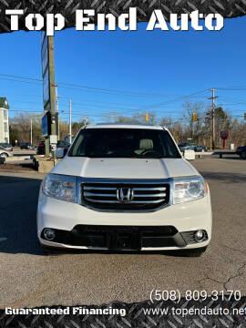 2012 Honda Pilot for sale at Top End Auto in North Atteboro MA