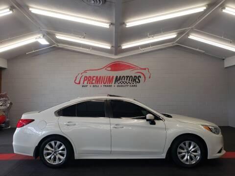 2015 Subaru Legacy for sale at Premium Motors in Villa Park IL