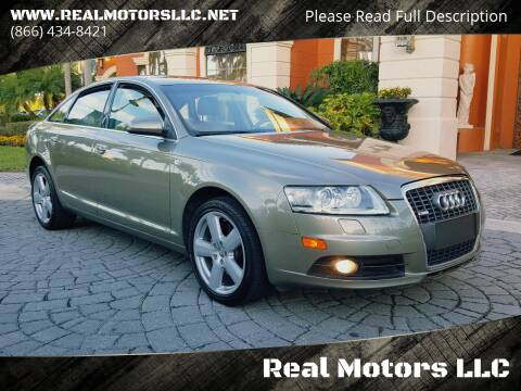 2008 Audi A6 for sale at Real Motors LLC in Clearwater FL