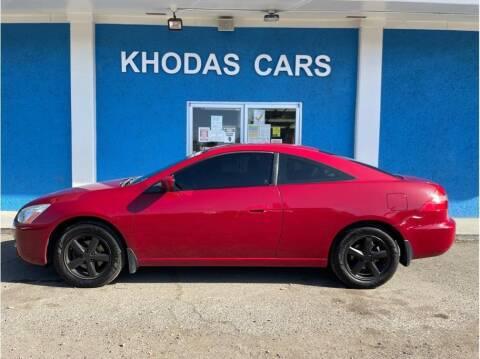 2004 Honda Accord for sale at Khodas Cars in Gilroy CA