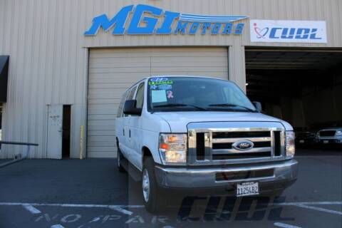 2014 Ford E-Series Wagon for sale at MGI Motors in Sacramento CA