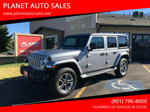 2019 Jeep Wrangler Unlimited for sale at PLANET AUTO SALES in Lindon UT