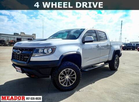 2019 Chevrolet Colorado for sale at Meador Dodge Chrysler Jeep RAM in Fort Worth TX
