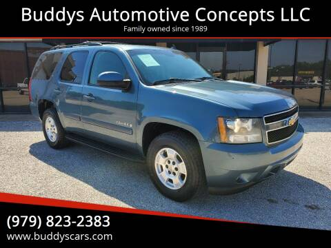 2009 Chevrolet Tahoe for sale at Buddys Automotive Concepts LLC in Bryan TX