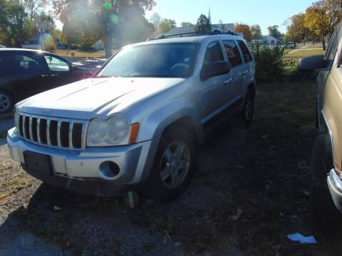 2006 Jeep Grand Cherokee for sale at New Start Motors LLC in Montezuma IN