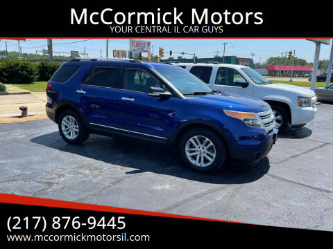 2014 Ford Explorer for sale at McCormick Motors in Decatur IL