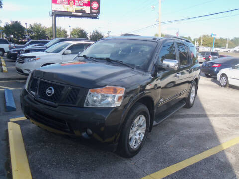 2009 Nissan Armada for sale at ORANGE PARK AUTO in Jacksonville FL