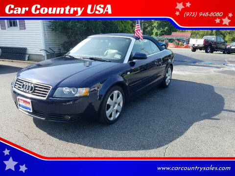 2006 Audi A4 for sale at Car Country USA in Augusta NJ