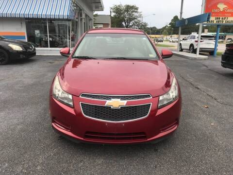 2012 Chevrolet Cruze for sale at Dad's Auto Sales in Newport News VA